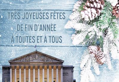 Très joyeuses fêtes de fin d'année à toutes et à tous