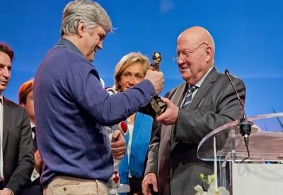 Isséen d'Or 2015 : André Santini récompense Aldebaran