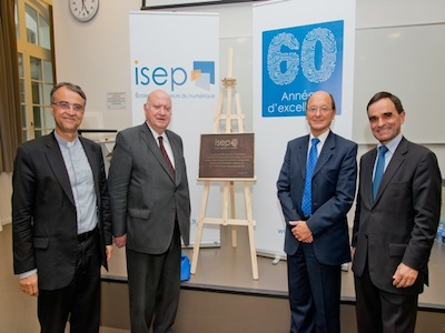 L'ISEP inaugure son campus d'Issy-les-Moulineaux