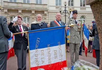 En images : revivez les commémorations du 8-Mai