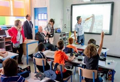 Issy-les-Moulineaux : le tableau 2.0 arrive en classe !