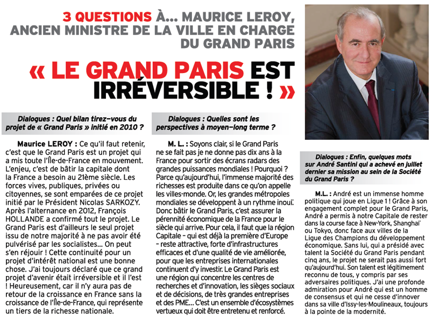 Interview Maurice Leroy