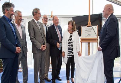 SEDIF : inauguration de la station de pompage de Puteaux