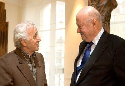 L'hommage d'André Santini à Charles Aznavour