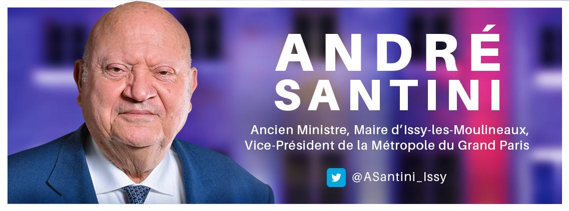 André Santini | Site officiel du maire d'Issy-les-Moulineaux -